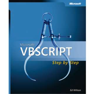 Microsoft VBScript: Step by Step (511 Page Mega eBook)