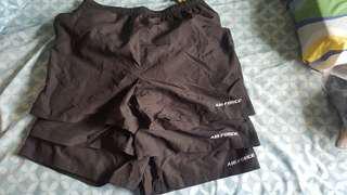 RSAF Air Force PT shorts
