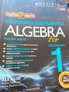 🚚 Sec 1 Express and IP math Mavis algebra