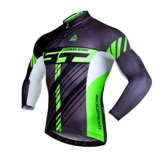 Soomom Men's Long Sleeve Cycling Jersey SM38