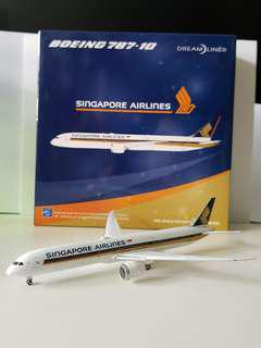 B787-10 Singapore Airlines Scale 1:400