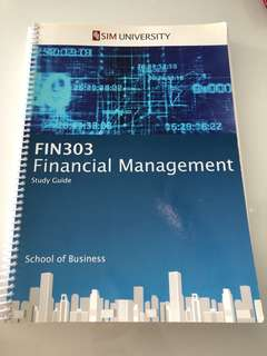 Financial Management (Study Guide)