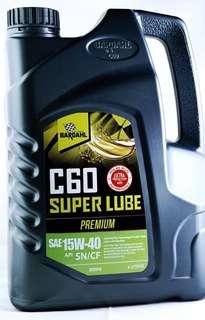 Bardahl C60 15W40 SN lubricant