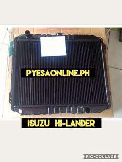 Isuzu hilander radiator assemby