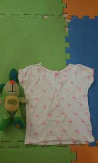 Carters 2t but will fit 1-2yrs old petite