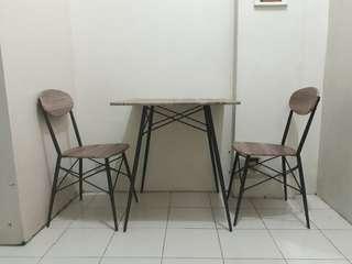 2-seater stylish multipurpose dining set