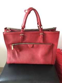 Zara Red Handbag