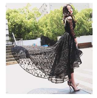 Black dress for rent