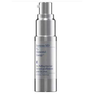 NEW PERRICONE MD H2 Elemental Energy De-Puffing Eye Gel RRP$110