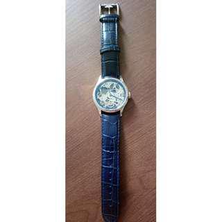 Thomas Earnshaw Bauer Machanical Skeleton Watch