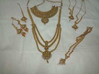 Indian bridal jewelleries