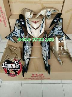 COVERSET YAMAHA Y15ZR 2016 YAMAHA EXCITER 150 LIMITED EDITION CAMO LIVERY VIETNAM