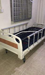 Hospital Bed with cushion (massage muscle)
