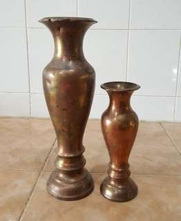 Antique copper vase 2