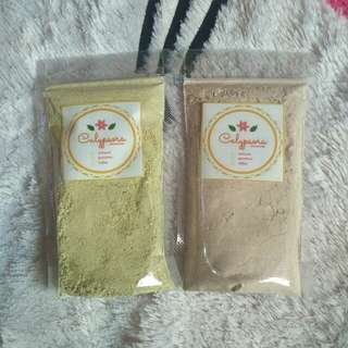 Masker oat organik greentea & cofee