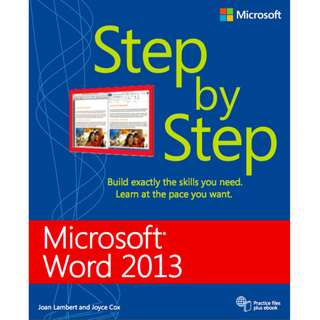 Microsoft Word 2013 Step By Step (576 Page Mega Full Colored eBook)