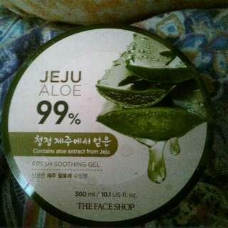 The face shop: Jeju Aloe Vera Gel