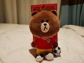 🚚 Line Brown Bear Plush Mcdonald Hong Kong