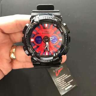 SPIDERMAN GSHOCK WATCH