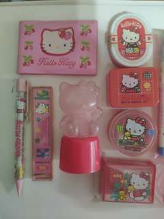 Hello Kitty 文具 *inbox for individual price*