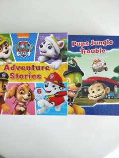 Paw Patrol Adventure Stories 6 books