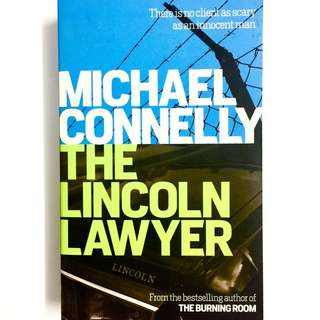 The Lincoln Lawyer by Michael Connelly (legal thriller book)
