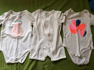 Cotton On & Carters Baby Clothes