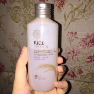 REPRICED The Face Shop Rice Ceramide Toner