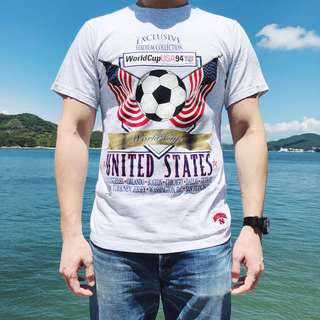 World Cup 1994 Team USA T-shirt Made in U.S.A.