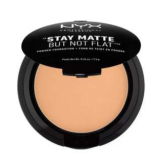 NYX Stay Matte but not flat powder Foundation. Soft Beige SMP05