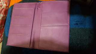 Big wallet for cards or paper