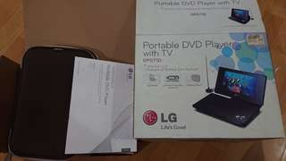 "🚚 LG 7"" portable DVD player DP571D"