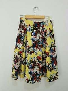 Flare skirt pull n bear
