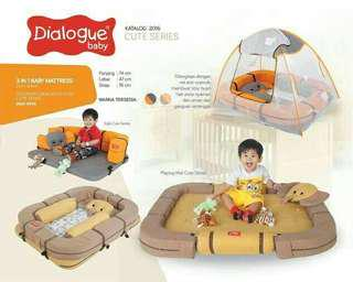 Kasur bayi Dialogue multi fungsi cute series elephant DK 9104