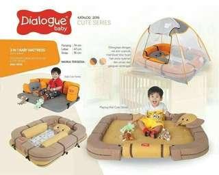 Kasur bayi Dialogue multi fungsi cute series elephant DK 9104