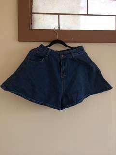Highwaisted denim shorts -27
