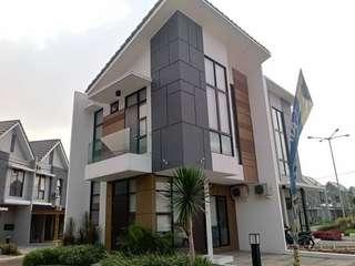 Neu River Garden Rumah 2 lantai Di Galuh Mas Karawang DP MURAH