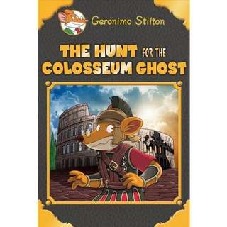 Geronimo Stilton The Hunt for the Colosseum Ghost children book