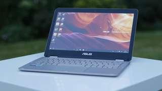 Asus ZenBook UX360CA core m3 ram 8gb hdd 256gb windows 10 ori