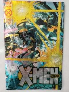 Comic Xmen Omega Hologram1995