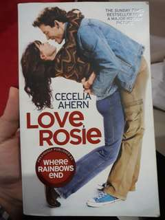 Novel Love Rosie (Eng Ver)