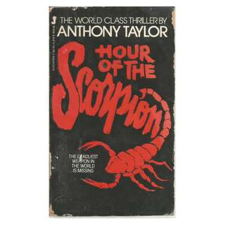 Anthony Taylor - Hour Of The Scorpion