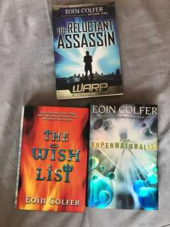Eoin Colfer Book Bundle