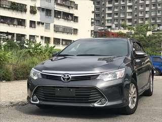 FB【阿彥嚴選認證車-Yencar】'2015 Camry 2.0 頂級 灰、中古車、二手車、全額貸、車換車