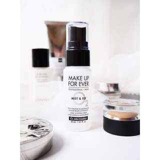 MUFE Make Up For Ever makeup forever setting spray