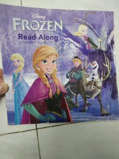 Frozen story book and CD