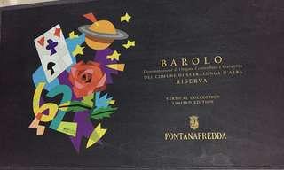 限量版Barolo Riserva limited edition wine
