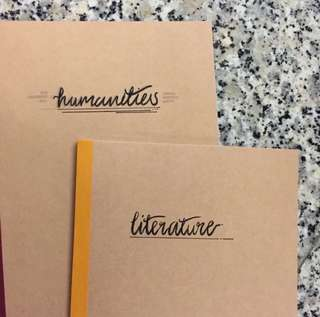 🚚 Muji customisable notebooks!