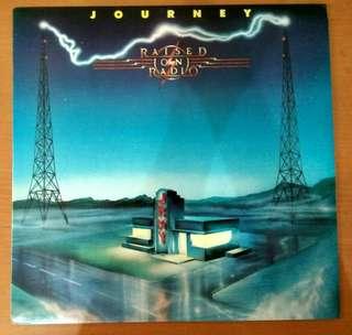 Vinyl LP: Journey <Raised On Radio> (1986)