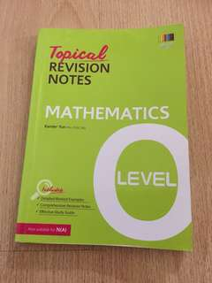 O Level Maths revision notes